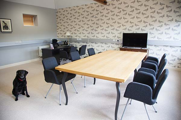 Allen Tomas&Co boardroom at the Dersingham office